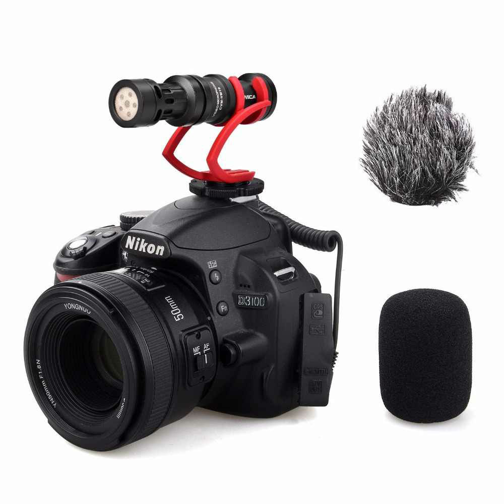 Comica CVM VM10 II Microfoon Rood