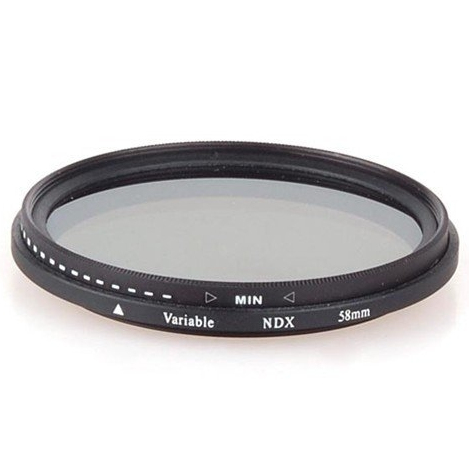 Mentter Variabel ND-Filter ND2-400 62mm