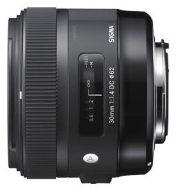 Sigma 30mm F/1.4 ART DC HSM voor Sony Alpha