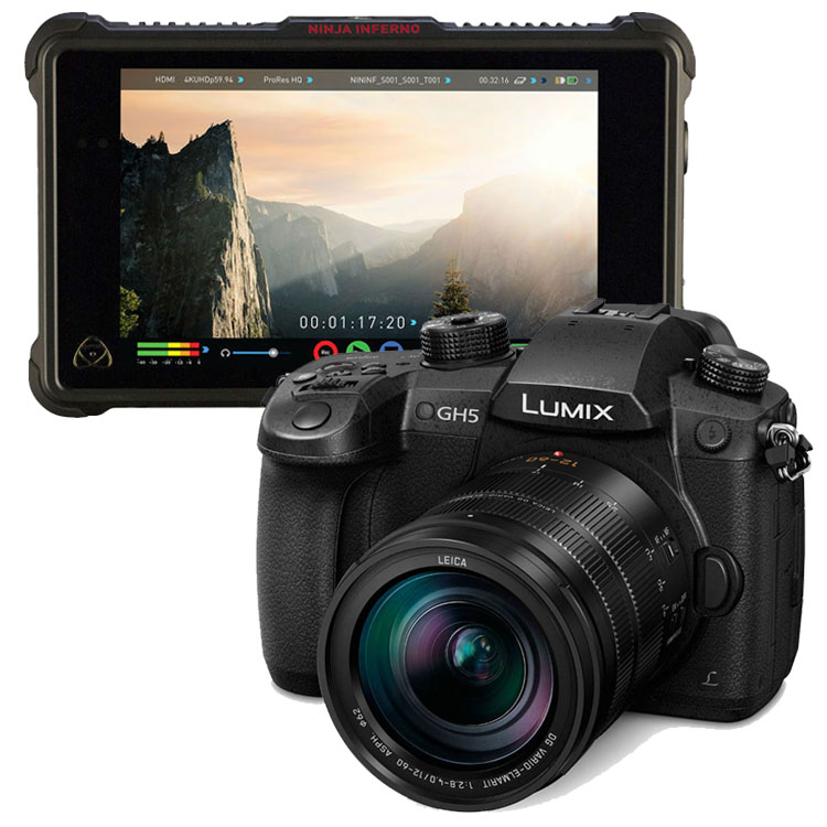Panasonic Lumix DMC-GH5 + 12-60mm F/2.8-4.0 Leica DG Vario-Elmarit + Atomos Ninja Inferno