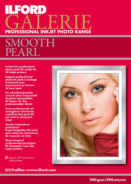 DUBBEL Ilford GALERIE Prestige Smooth Pearl A2 25 vel