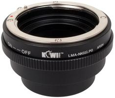 Kiwi Photo Lens Mount Adapter (LMA-NK(G)_PQ)