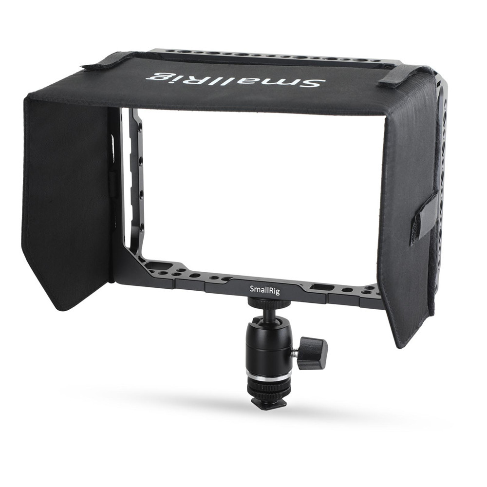 SmallRig 1988 7'' Monitor Cage with Sunhood for Blackmagic Video Assist