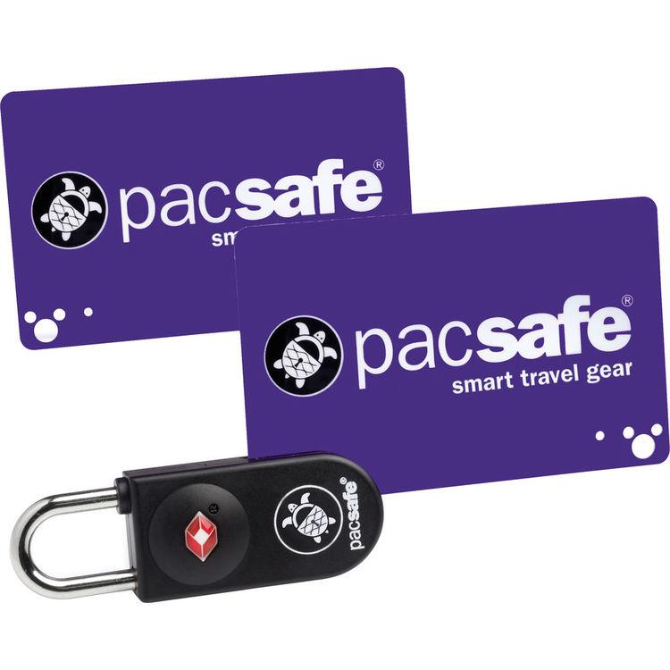 Pacsafe Prosafe 750 TSA kaartslot zwart