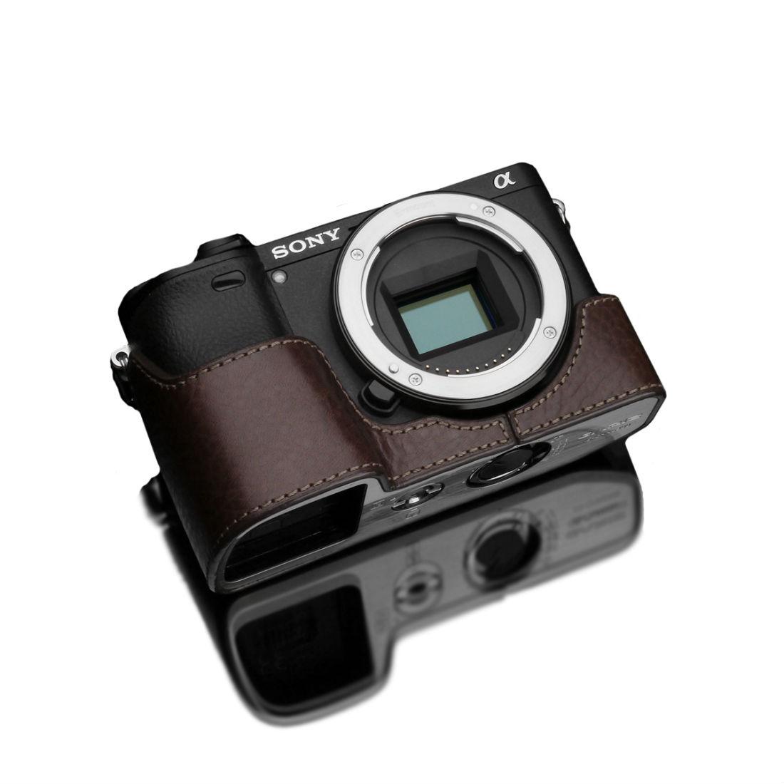 Gariz XS-CHA6300BR Halfcase Brown voor A6300
