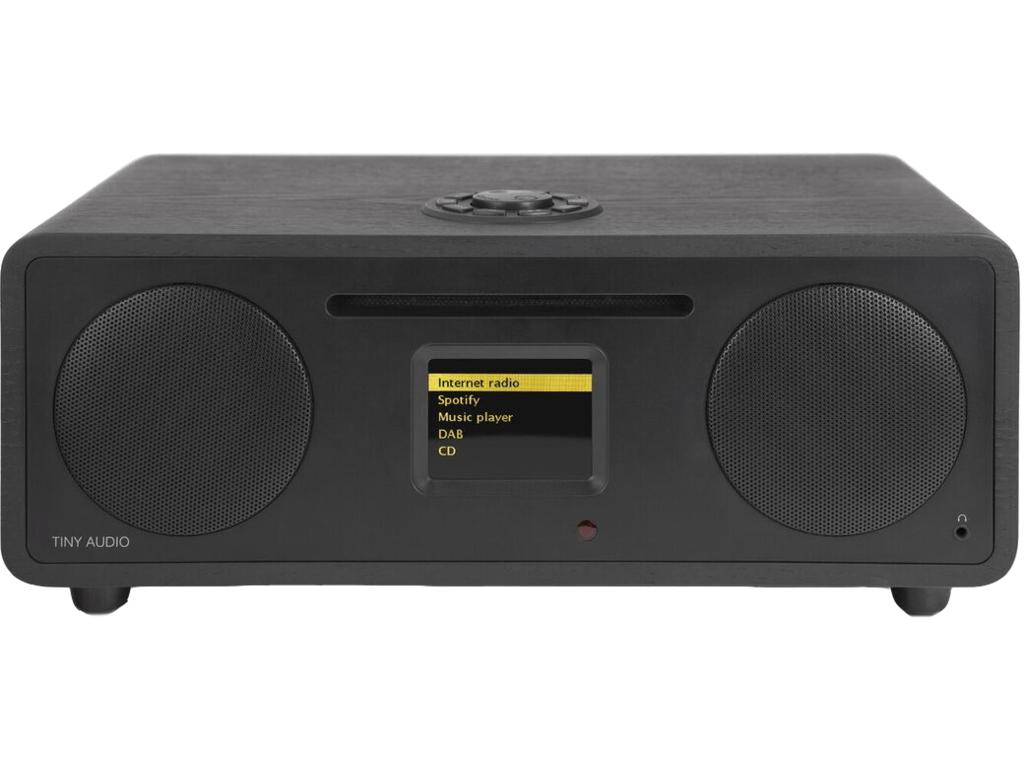 Tiny Audio Stereo Wide Zwart