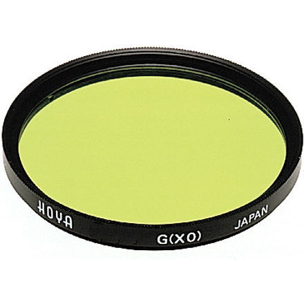 Hoya 58mm X0 (geel groen) hmc in SQ case
