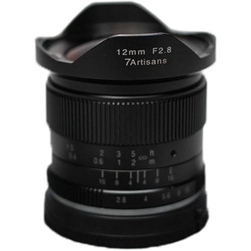 7artisans 12mm F/2.8 zwart voor MFT