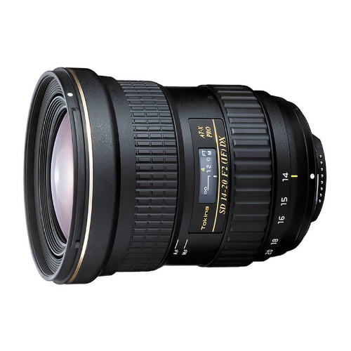 Tokina AT-X DX 14-20mm F/2.0 Canon