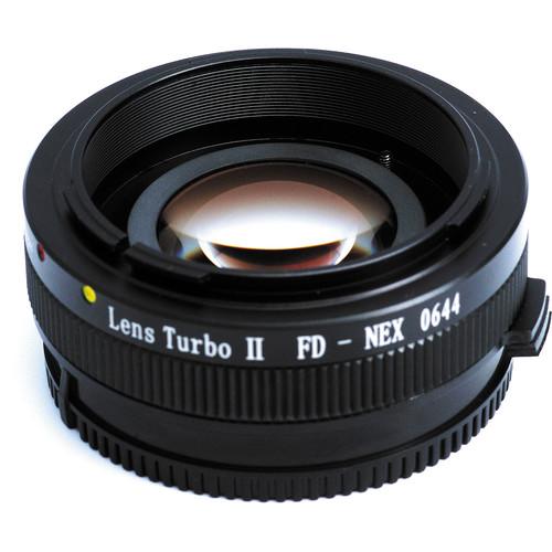 Zhongyi Mitakon Lens Turbo adapter Canon FD naar Sony Nex Mark 2