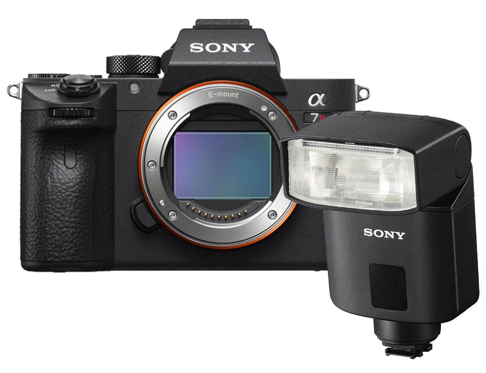 Sony A7R mark III + HVL-F32M Flitser