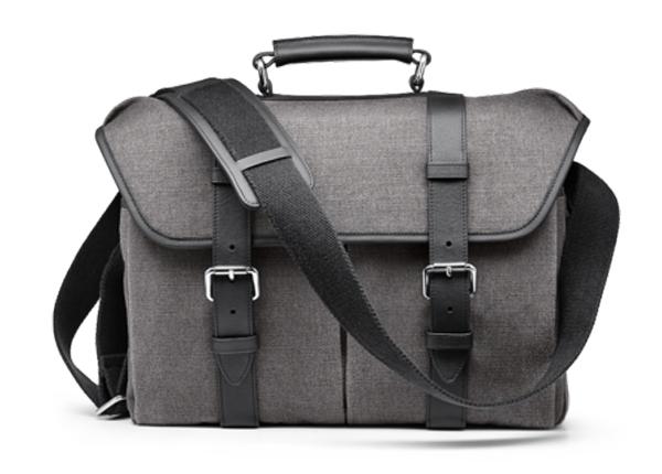 Leica System Case Cotton/Linen Size L grijs