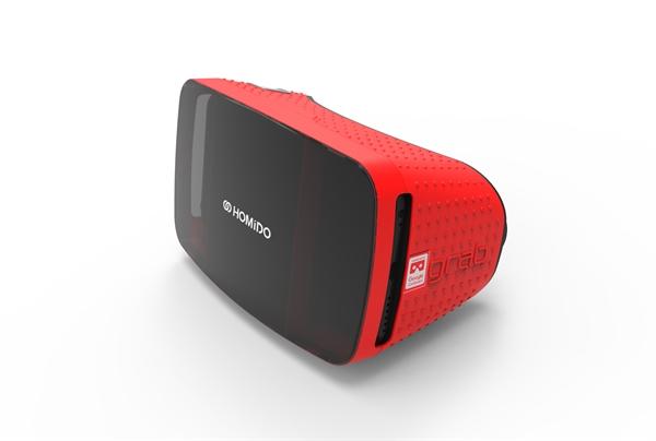 Homido Grab VR bril rood