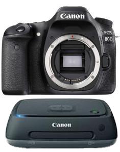 Canon EOS 80D + CS100 connect station 1TB