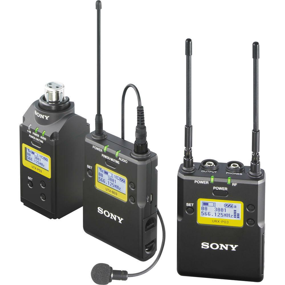 Sony UWP-D16/K33 Draadloze Microfoonset (UWP-D16/K33)