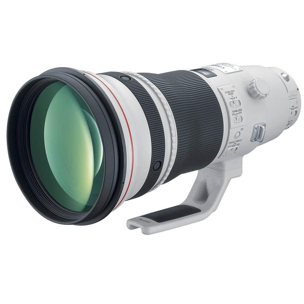 Canon EF 400mm F/2.8 L USM iS II + (sunhood) + transport case