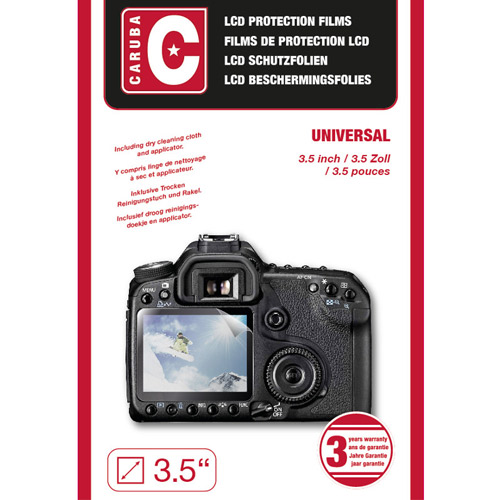 Caruba LCD Cover 3,5 3 Stuks