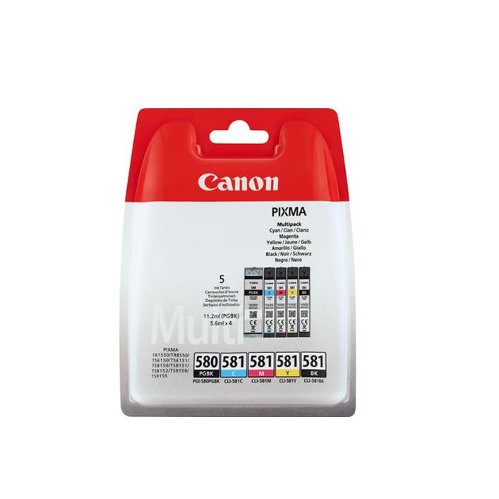 Canon PGI-580/CLI-581 BK/CMYK Sec