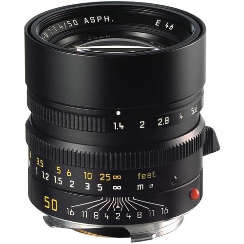 Leica 11891 M 50mm F/1.4 Summilux ASPH zwart 11891