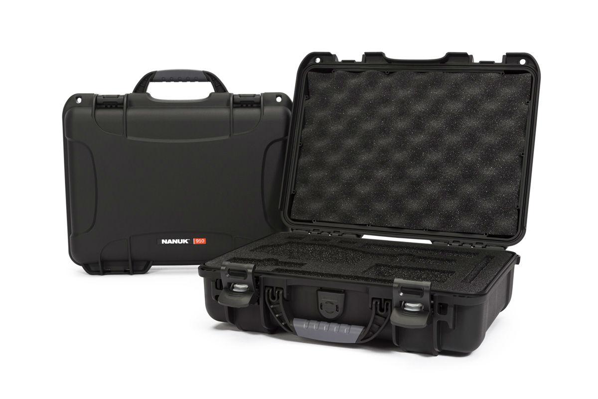 Nanuk 910 Case Black with Foam Insert for DJI Osmo+