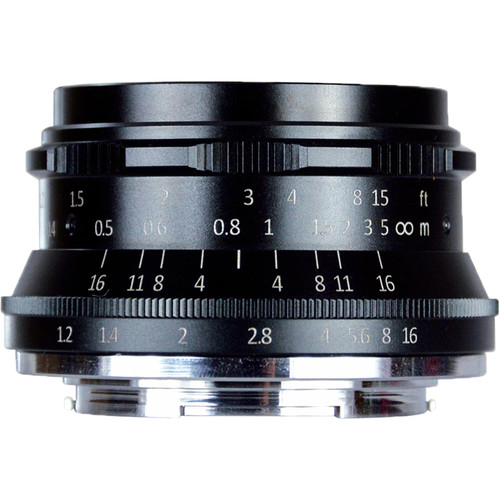 7artisans 35mm F/1.2 zwart voor MFT