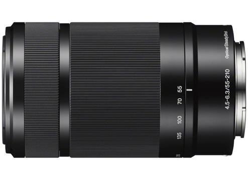Sony E 55-210mm F/4.5-6.3 OSS zwart (SEL55210B.AE)