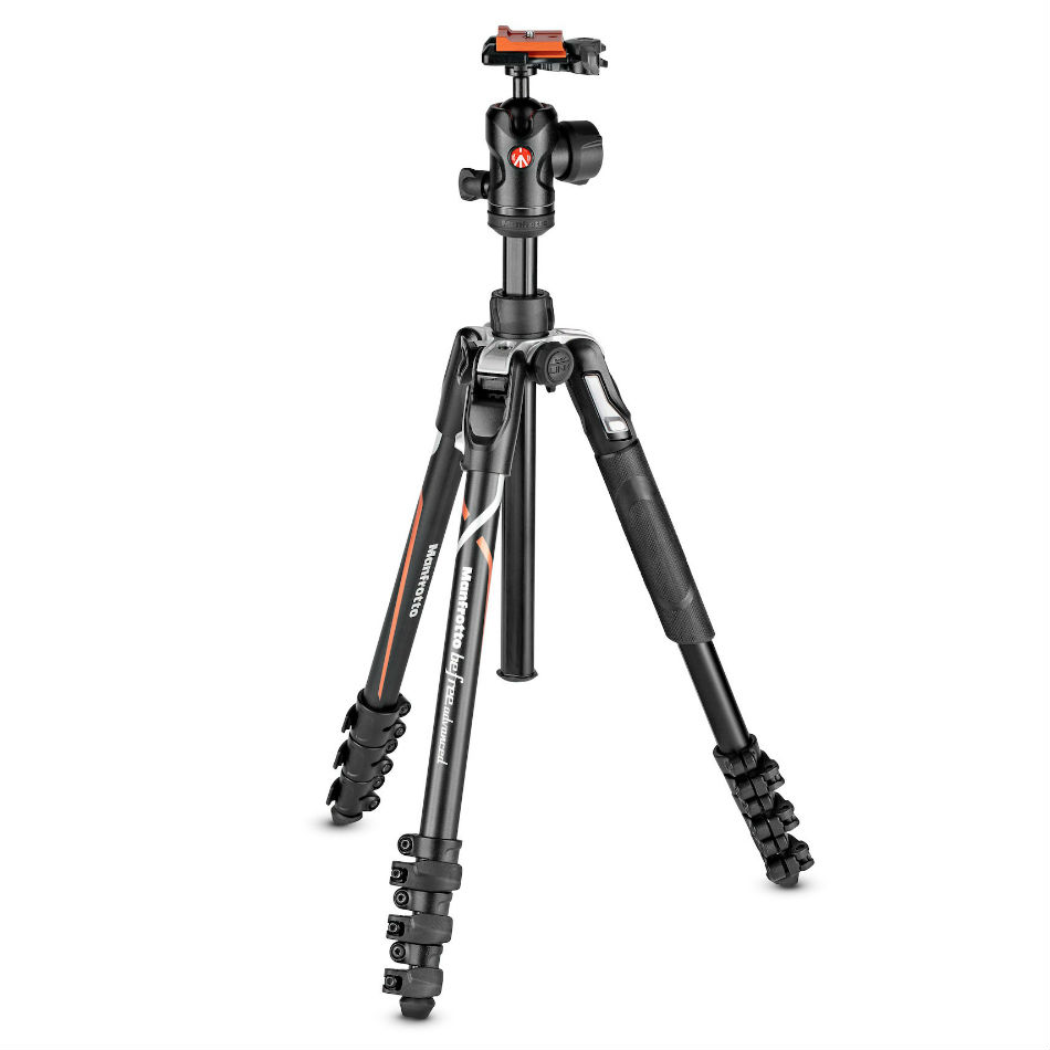 Manfrotto Befree GT Carbon Travel Tripod voor Sony A series