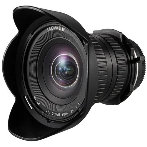 Venus Optics LAOWA 15mm F/4 Wide Angle Macro 1x met Shift voor Nikon FX, DX