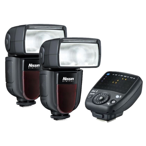 Nissin Di700A Duo kit Canon incl. Air 1 NAS TTL-commander