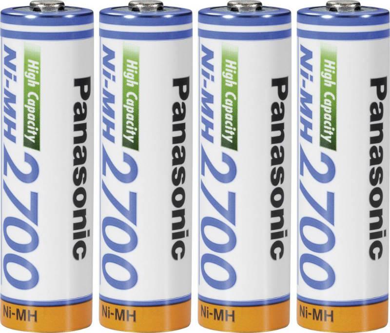 Panasonic PHR3U2700 AA oplaadbare batterij (penlite) NiMH 1.2 V 2700 mAh 4 stuks