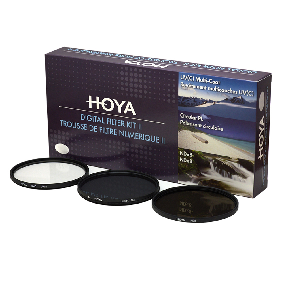 Hoya 46mm Digital Filter Kit II (3 filters)