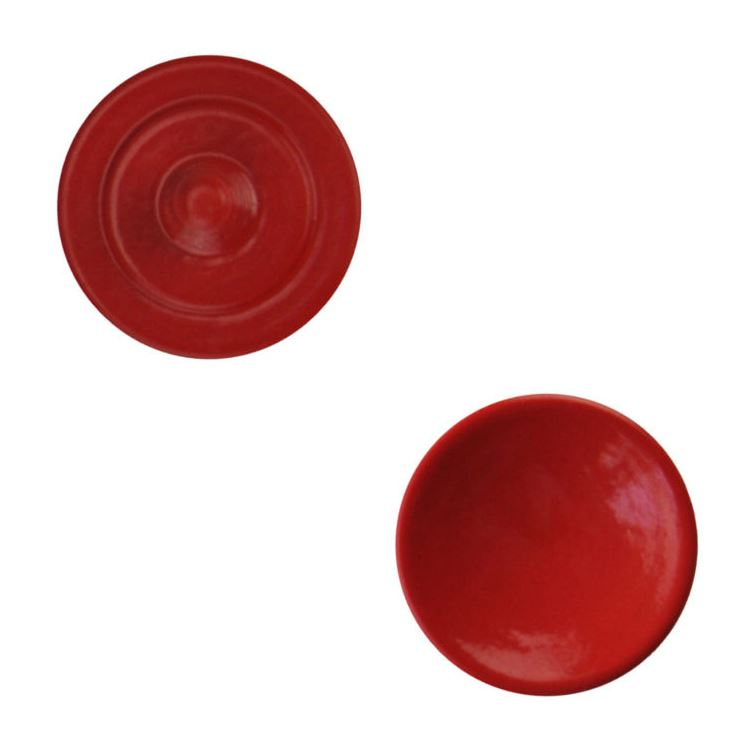 Caruba Soft Release Buttons rood