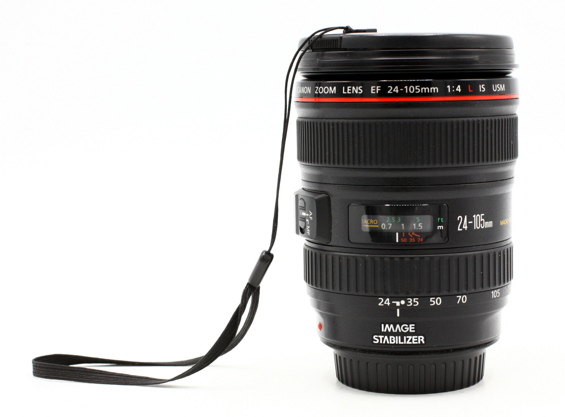 Canon EF 24-105mm F/4.0 L USM iS + lenscase occasion
