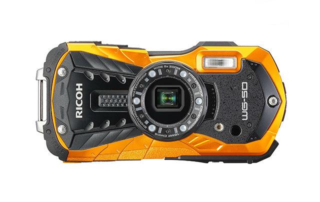 Ricoh WG-50 weerbestendige compactcamera oranje