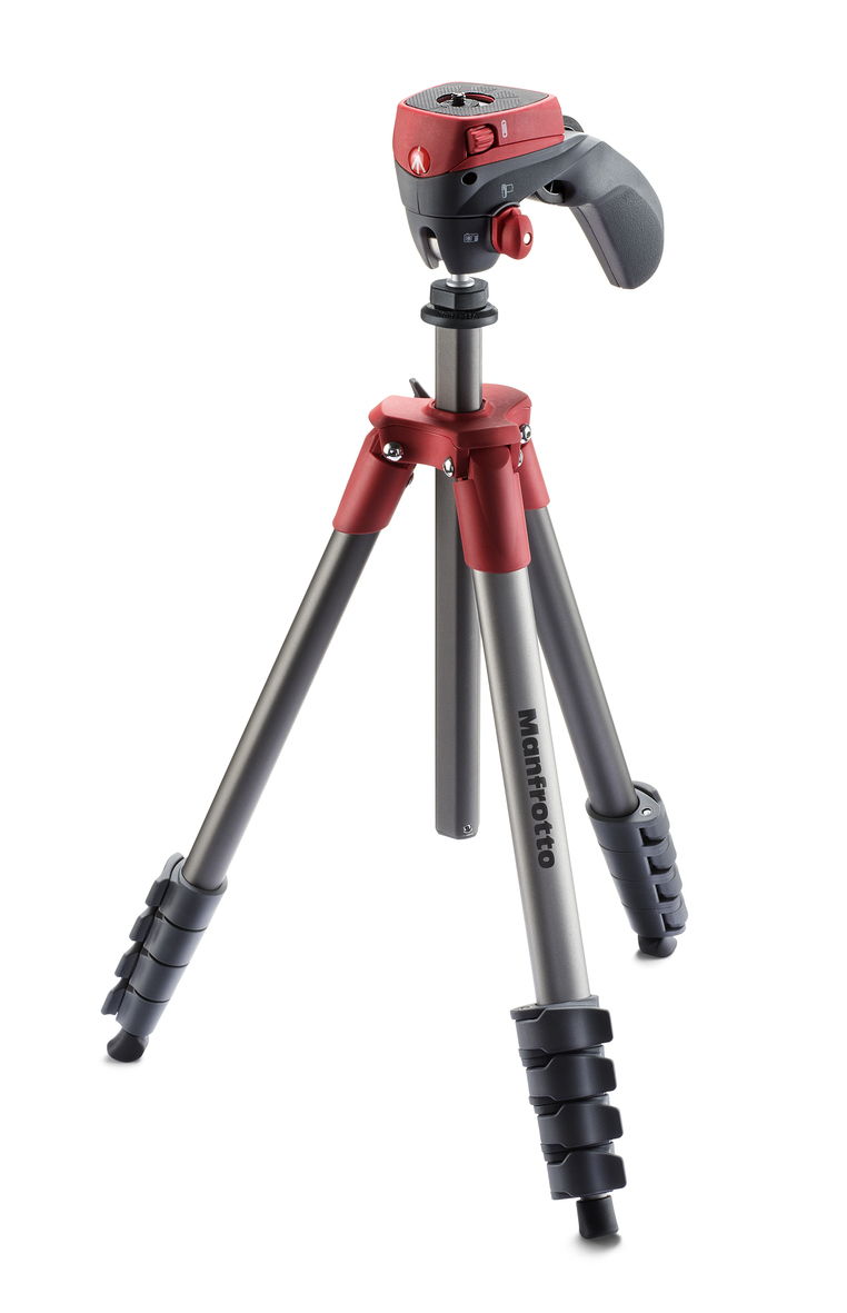 Manfrotto Compact Action red