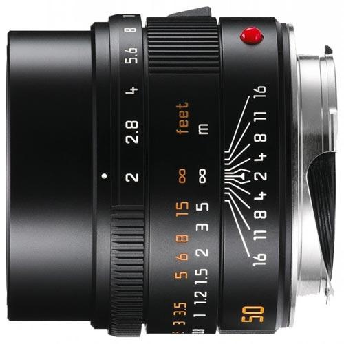 Leica 11826 M 50mm F/2.0 Summicron zwart 11826