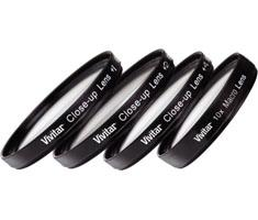 Vivitar 67mm Close Up Lens Set +1 +2 +4 +10