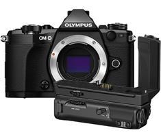 Olympus OM-D E-M5 Mark II zwart + HLD-8 Power Battery Holder