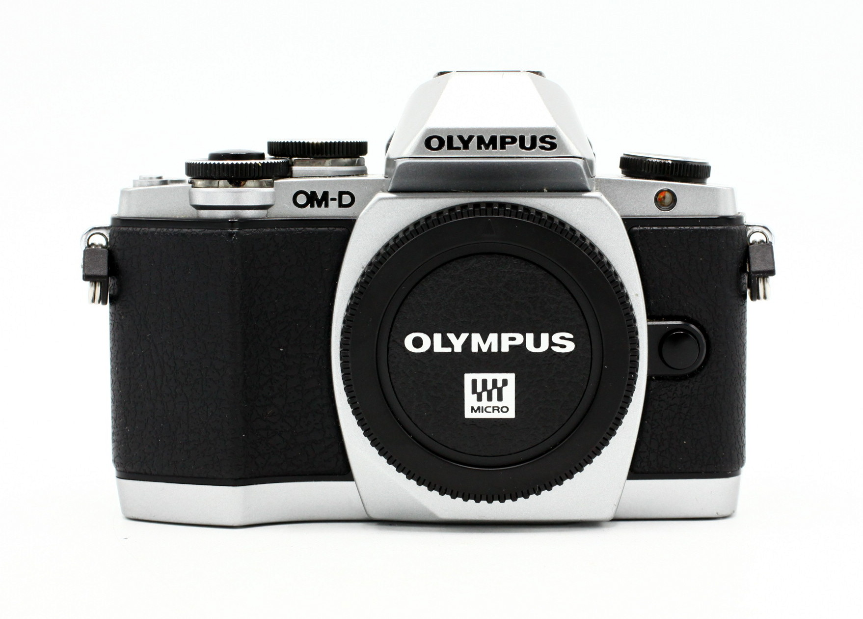 Olympus OM-D E-M10 ZILVER occasion