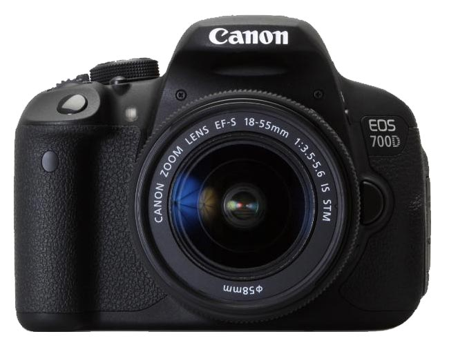 Canon EOS 700D + 18-55mm Is STM Outlet