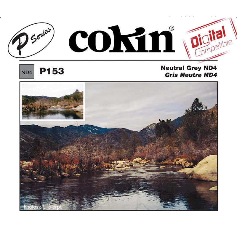 Cokin Filter P153 Neutral Grey ND4 (0.6)