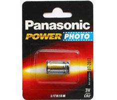 Panasonic CR2, 3 volt Photo Lithium batterij