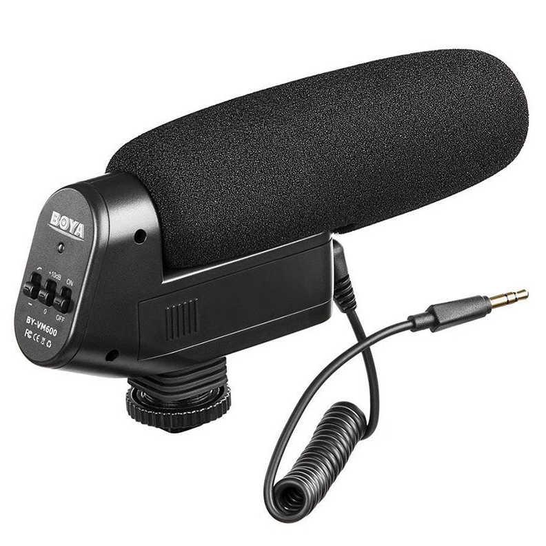 Boya Shotgun Richtmicrofoon BY-VM600