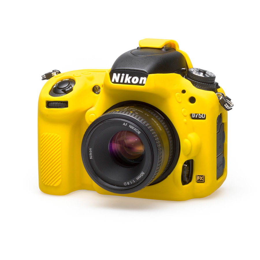 easyCover Cameracase Nikon D750 yellow