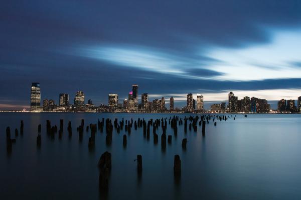 stadsfotografie in de nacht