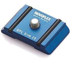 Novoflex Snelkoppelplaat smal 25x39mm
