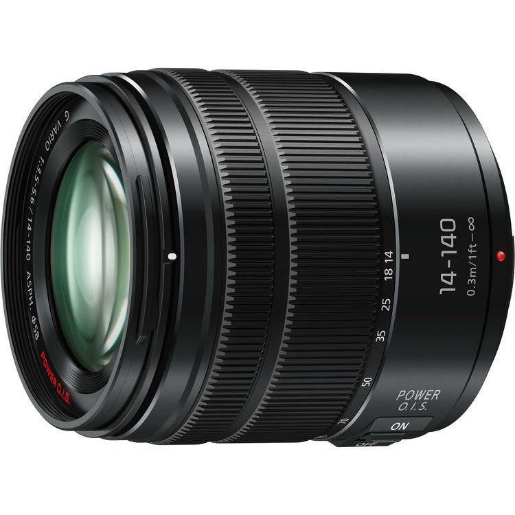 Panasonic MFT 14-140mm F/3.5-5.6 zwart HD power O.i.S. Lumix G Vario (H-FS14140K)