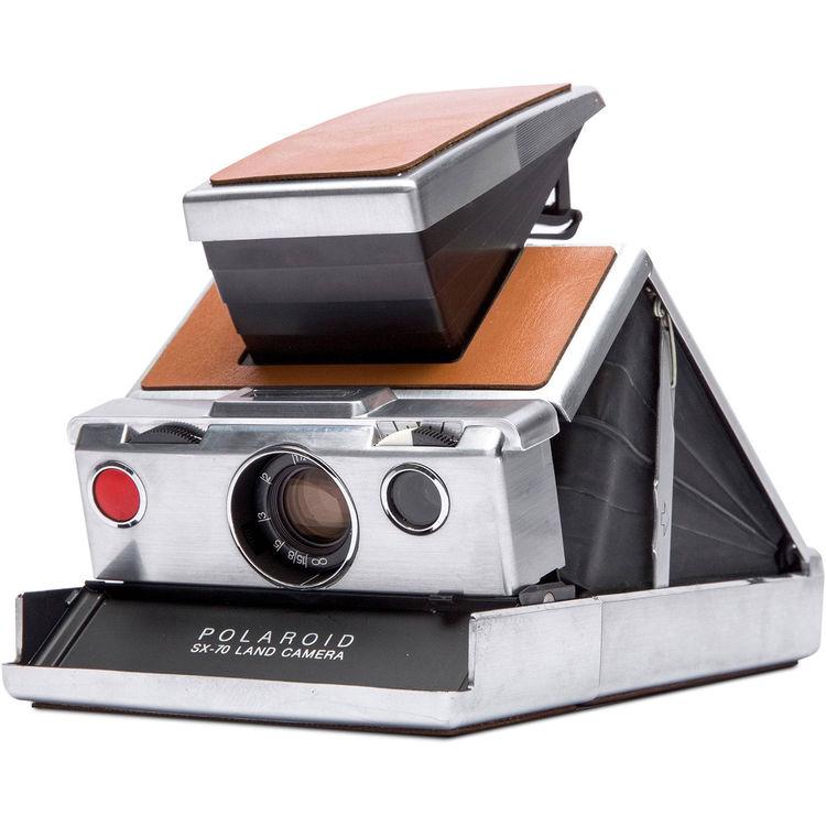 Polaroid Originals Refurbished SX70 Camera zilver/bruin