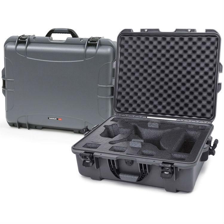 Nanuk 945 Case Graphite with Foam Insert for DJI Phantom 3
