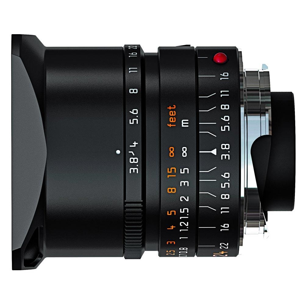 Leica 11648 Elmar-M 24mm F/3.8 ASPH zwart